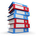 3d Tower Of Folders Stock Photo - 40342350