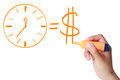 Time Is Money Stock Image - 40346871