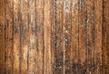 Texture Of Brown Old Wooden Walls With Scratches Stock Image - 40357041
