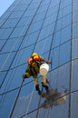 Window Cleaner Royalty Free Stock Image - 40369486