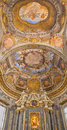 Bologna - Ceiling Fresco And Altar From Chapel Of  Stock Photography - 40370752
