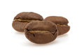 Coffee Beans On White Royalty Free Stock Images - 40377779