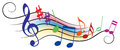Musical Notes Royalty Free Stock Images - 40386869