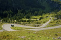 Tight Turn On A Mountain Road Stock Photography - 40389682