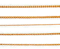 Gold Chains Royalty Free Stock Image - 40390666