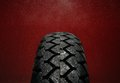 Wet Motorcycle Tire Tread Stock Images - 40392184