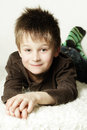 Cute Smiling Little Boy Stock Photography - 40393222