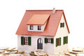 House And Coins Stock Photography - 40396992