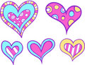Heart Set Vector Stock Photos - 4041253