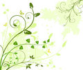 Floral  Artistic Vector Design  Background Royalty Free Stock Photo - 4044435