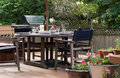 Lunch On The Patio Royalty Free Stock Photo - 4045185