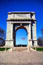 Valley Forge Park National Memorial Arch Monument Royalty Free Stock Images - 40408429