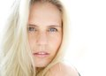 Sensual Young Blond Woman With Blue Eyes Royalty Free Stock Photo - 40412605