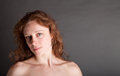 Nude Redhead Royalty Free Stock Photography - 40418177