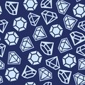 Diamond Seamless Pattern Stock Images - 40426274