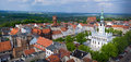 Chelmno City Aerial View On Old Town Centre Royalty Free Stock Photo - 40446535