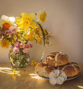 Easter Still Life Royalty Free Stock Image - 40461246