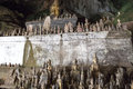 Pak Ou Caves - Buddha Statues Inside The Lower Cave Stock Photos - 40472363