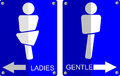 Simple Sign Of Toilet Symbols Stock Image - 40488441