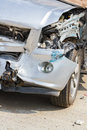 Truck Damaged By Accident Royalty Free Stock Photos - 40488858