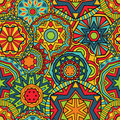 Fancy Rounds Ethnic Pattern Royalty Free Stock Images - 40493409