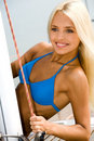 Attractive Blonde Royalty Free Stock Image - 4052586