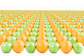 Apples And Oranges Royalty Free Stock Photos - 4057518