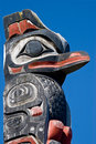 Totem Pole Royalty Free Stock Images - 4058589