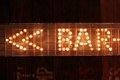Bar Sign Lights Neon Stock Photography - 40501462