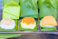 Sticky Rice With Custard Stock Photo - 40502630