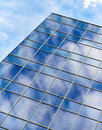 Blue Sky Glass Building Reflection Royalty Free Stock Photo - 40506065