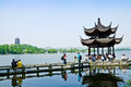 Hangzhou West Lake Landscape, In China Stock Images - 40507214