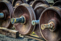 Train Car Axles Stock Photos - 40537173