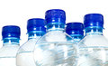 Mineral Water Bottles Stock Photography - 40539782