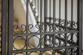 Detail Of Decorative Metal Fence Royalty Free Stock Photography - 40541597