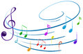 Musical Notes Royalty Free Stock Image - 40547236