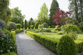 Garden Path Royalty Free Stock Image - 40555846