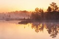 Dawn Light At The Lake Stock Photography - 40567832