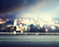 Asphalt Road And Blurred City Royalty Free Stock Photography - 40573737
