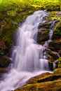 Crabtree Falls In George Washington National Forest In Virginia Stock Photo - 40586590
