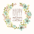 Happy Mothers Day Card. Stock Image - 40612391