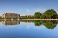 Washington DC Office Building Mirrored In Capitol Reflecting Pool Royalty Free Stock Photography - 40616217