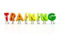 Team Forming Training Word Stock Image - 40621231
