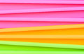 Fluorescent Multicolored Jardiniere Royalty Free Stock Images - 40625959