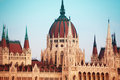 Parliament Cupola In Budapest, Hungary Stock Images - 40632144