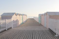 Bathing Boxes, Early Morning, Empty Royalty Free Stock Images - 40633649