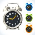 Alarm Clock Set Royalty Free Stock Photos - 40637818