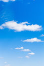 Few Light Clouds In Blue Sky Royalty Free Stock Images - 40641449