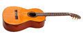 Side View Of Classical Acoustic Guitar Stock Photo - 40641500