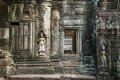 Apsara, Stone Carvings On The Wall Of Angkor Ta Prohm Royalty Free Stock Image - 40649096